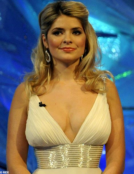 o HOLLY WILLOUGHBY 570 Top 10 Tits Of 2013