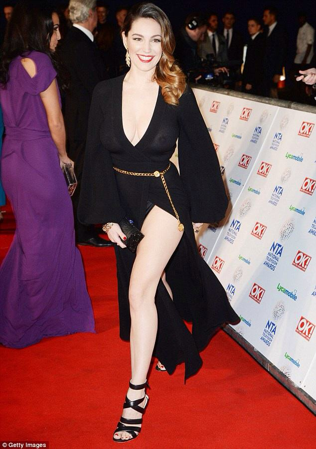 Kelly Brooks Braless TV Awards Blunder Is Incredible! image21