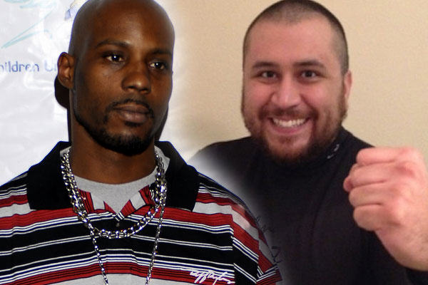 2014 02 04 dm CONFIRMED! George Zimmerman WILL Fight DMX In Celebrity Boxing Match