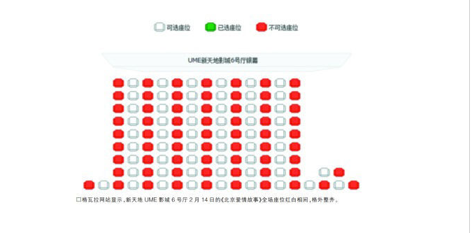screen shot 2014 02 14 at 2 23 43 pm Forever Alone Chinese Singletons Buy Movie Tickets So Couples Cant Sit Together