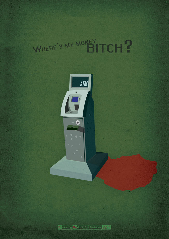 tumblr mvha3oe70P1slqxs4o1 1280 Designer Creates Amazing Posters For Every Breaking Bad Episode