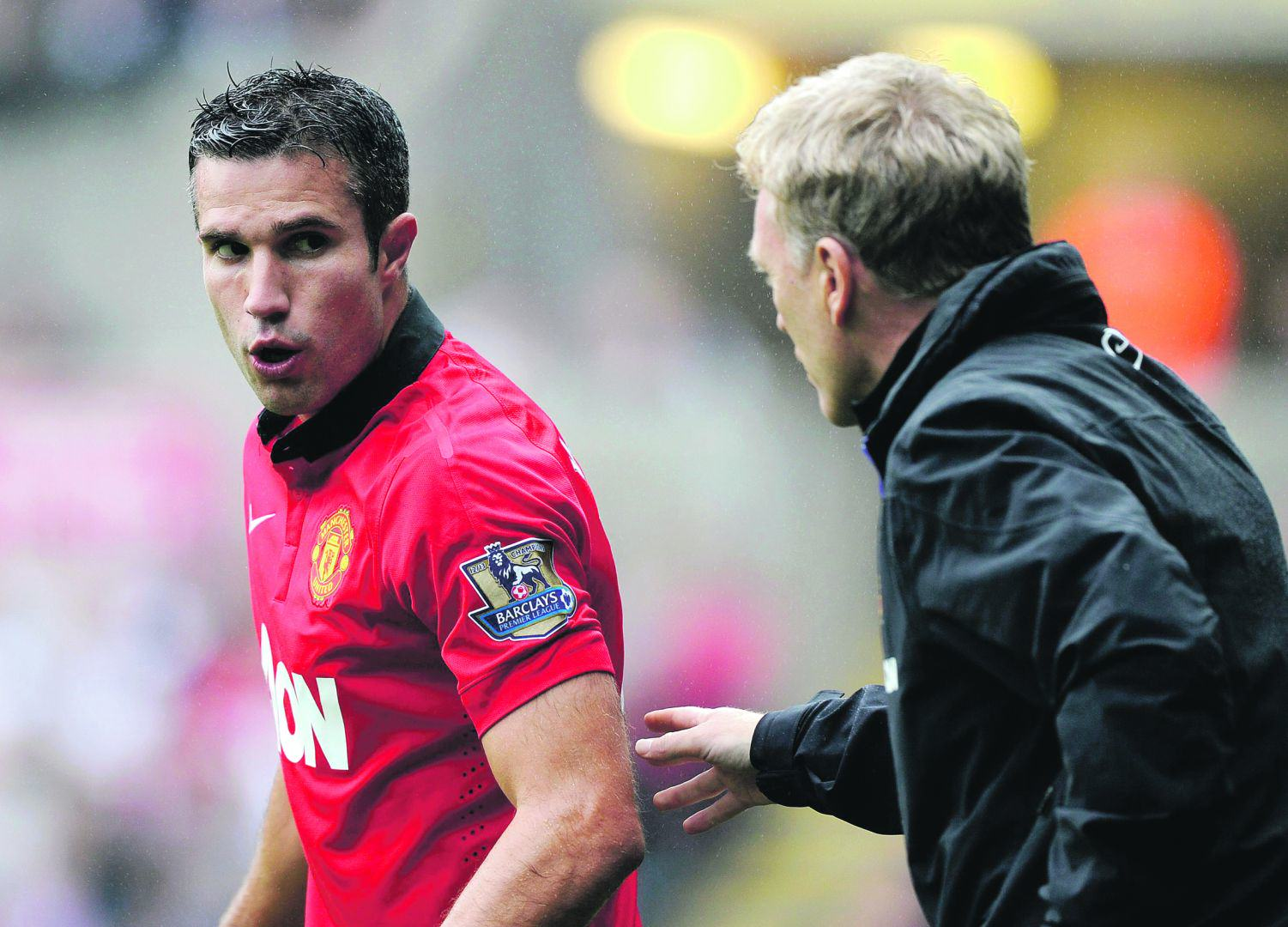 Unhappy Robin Van Persie Sends Son To Manchester City Academy %name