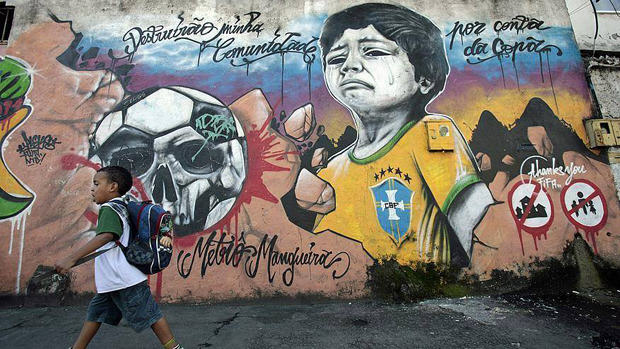 Brazils Anti FIFA Graffiti Ahead Of The World Cup 53860f9206d36