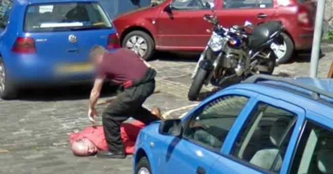 ad 136598171 Police Investigate Axe Murder Captured On Google Street View