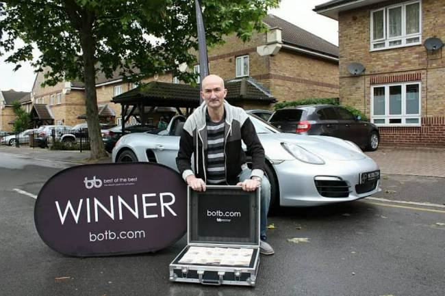 ad 136883577 Man On Benefits Wins £53K Porche In Spot The Ball Game