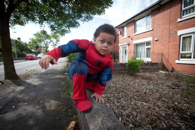 ad 137744646 Four Year Old Spiderboy Keeps Escaping From Home