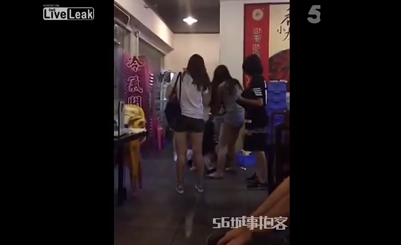 18 Man Jumps In On 5 On 1 Girl Fight, Obliterates Them All
