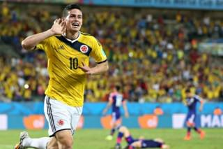 James Rodr guez 011 320x213 2014 World Cup Team Of The Tournament
