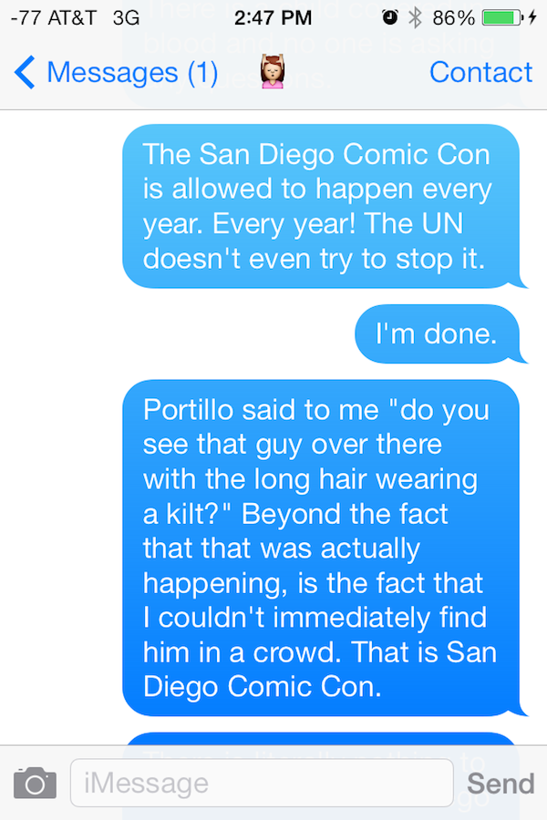 comic con shrooms 12 Guy Gets High On Mushrooms At Comic Con, His Texts Are Incredible