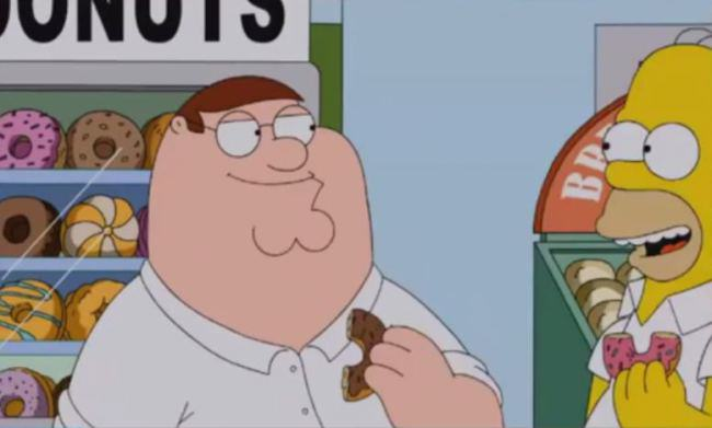 family guy simpsons The Simpsons Vs Family Guy Crossover Episode Is Coming!