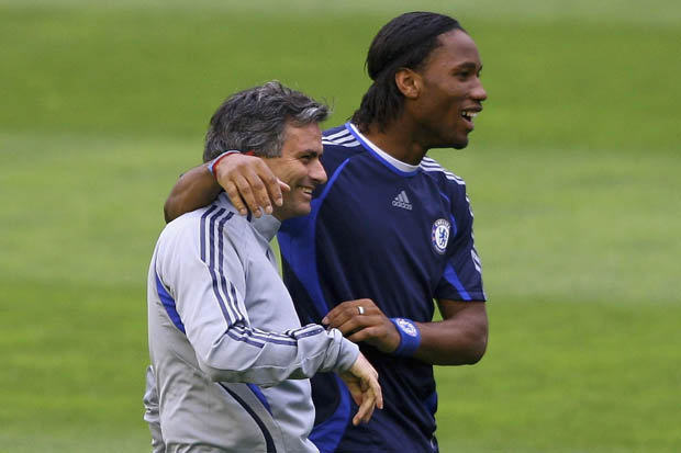 jose mourinho chelsea didier drogba 370220 Drogba Set For Chelsea Comeback Before Joining Coaching Staff Permanently