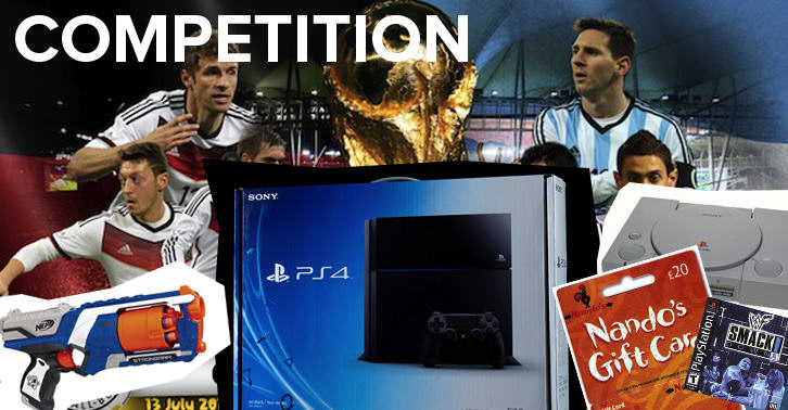 wccomp COMPETITION: Who Will Win The World Cup? Win A PS4.