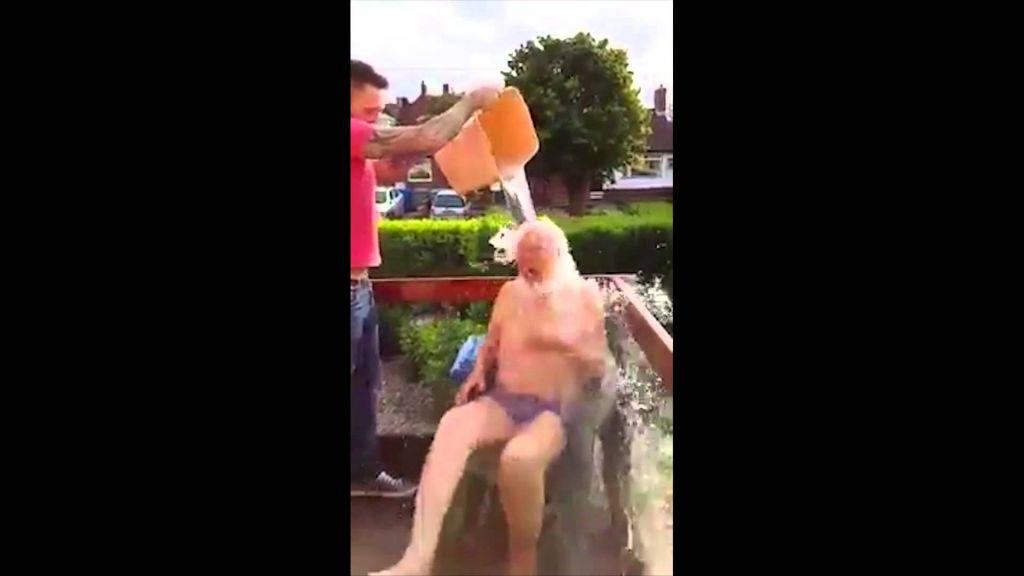 102 year old lad completes his i 102 Year Old Lad Completes His Ice Bucket Challenge