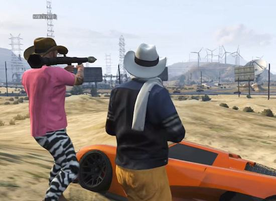 The Longest RPG Shot Ever On GTA V Online RPG