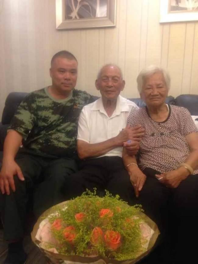 ad 142259407 War Vet, 94, Reunited With Wife After 70 Years Separated