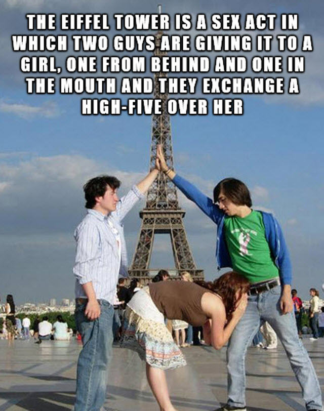 Eiffel Tower 13 Facts You Need To Know About Threesomes