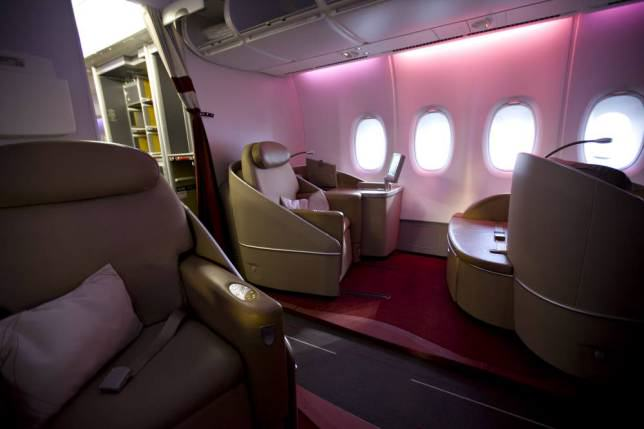 ad 147079627 Onboard Airliners With Insane First Class Cabins