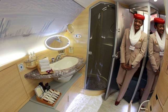ad 147079744 Onboard Airliners With Insane First Class Cabins