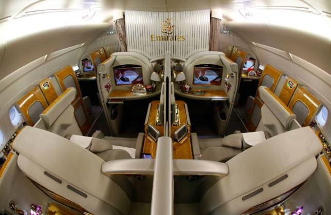 ad 147080095 Onboard Airliners With Insane First Class Cabins