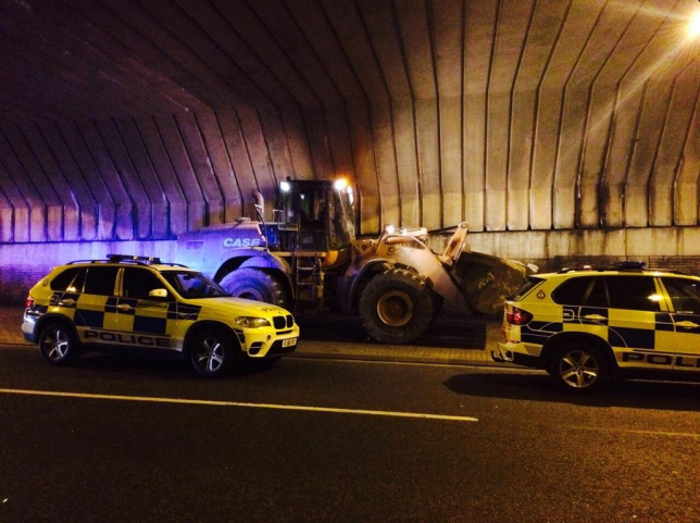 digger Man Leads Police On 3 Hour Chase In Stolen Digger