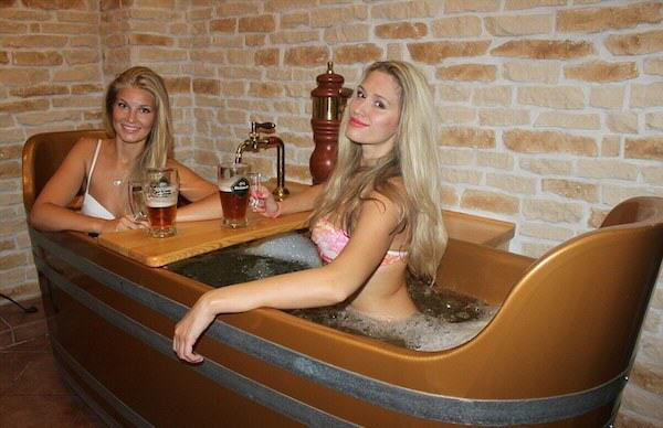 1155 Beer Spa In Prague Allows You To Get Wasted While Bathing In Beer