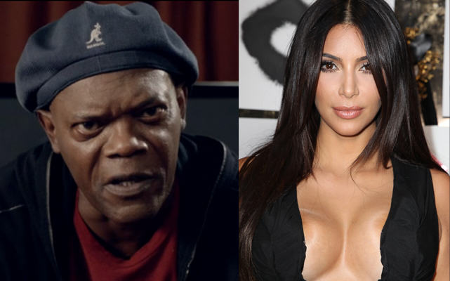 14 Samuel L Jackson Says Kim K Nudes Are Pointless If She Has A Sex Tape