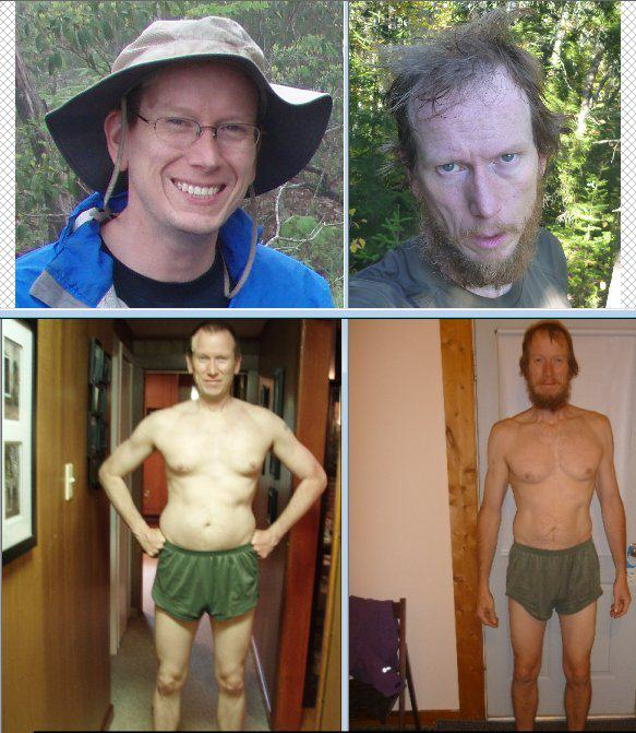 2000 mile hike body transofrmation US Marines Crazy Body Transformation After 2000 Mile Hike