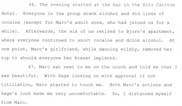 3 Divorce Papers Of NYC Banker Read Like Real Life Wolf Of Wall Street