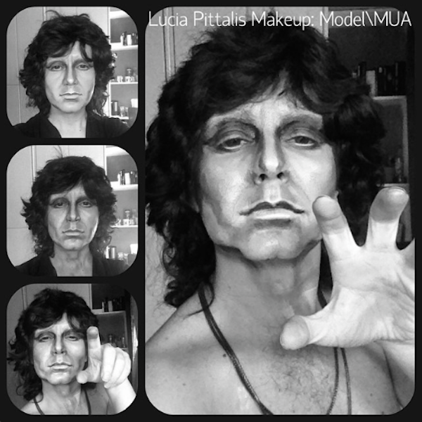 JIm morrisson te doors This Makeup Artists Transformations Are Unreal