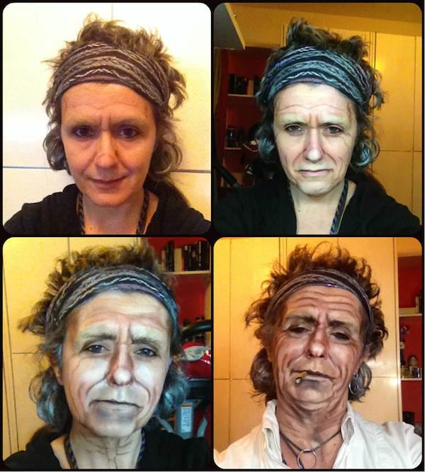 keith richards This Makeup Artists Transformations Are Unreal
