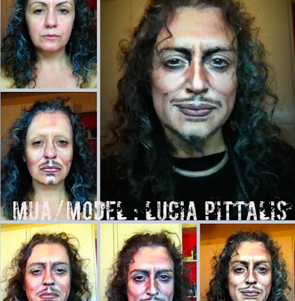 kirk hammet metallica This Makeup Artists Transformations Are Unreal