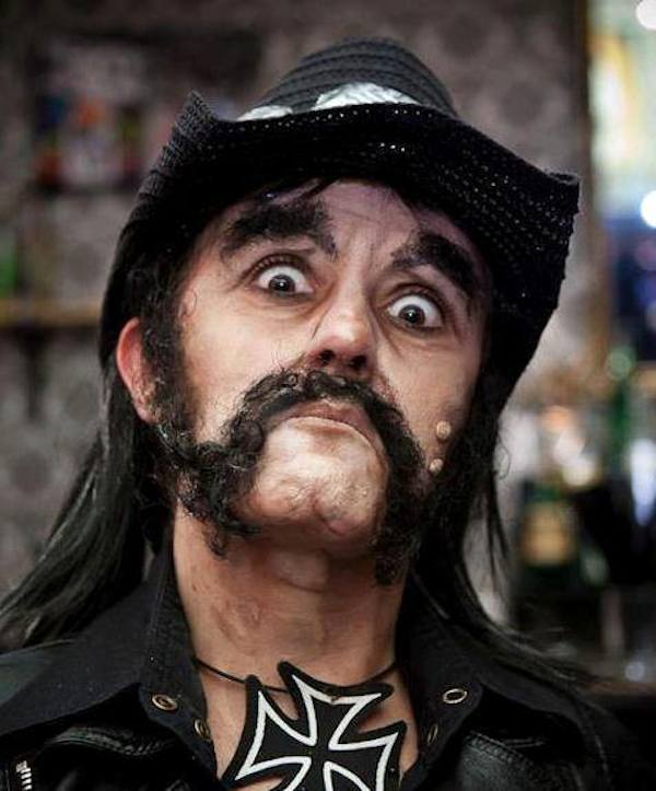 lemmykilmister motorhead This Makeup Artists Transformations Are Unreal