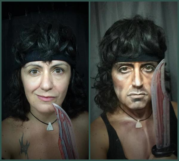rambo This Makeup Artists Transformations Are Unreal