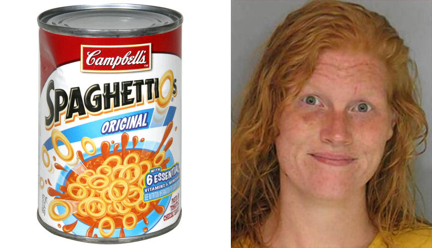 spaghettios1 Woman Spends Month In Prison After Police Mistake SpaghettiOs For Meth