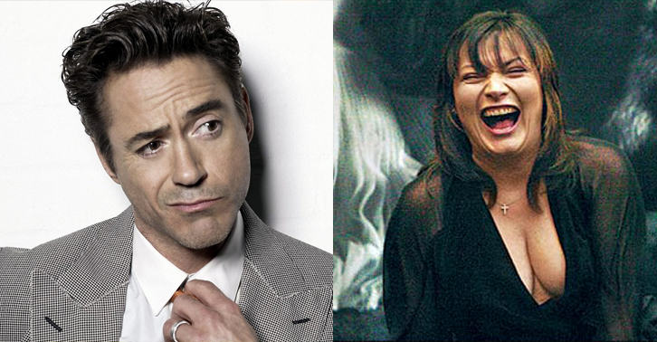 145 Robert Downey Jr Greets Lorraine Kelly By Saying Nice Tits
