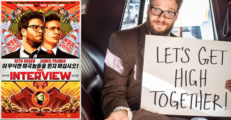Seth Rogen Wants To Get High With You Ahead Of His New Film 2106