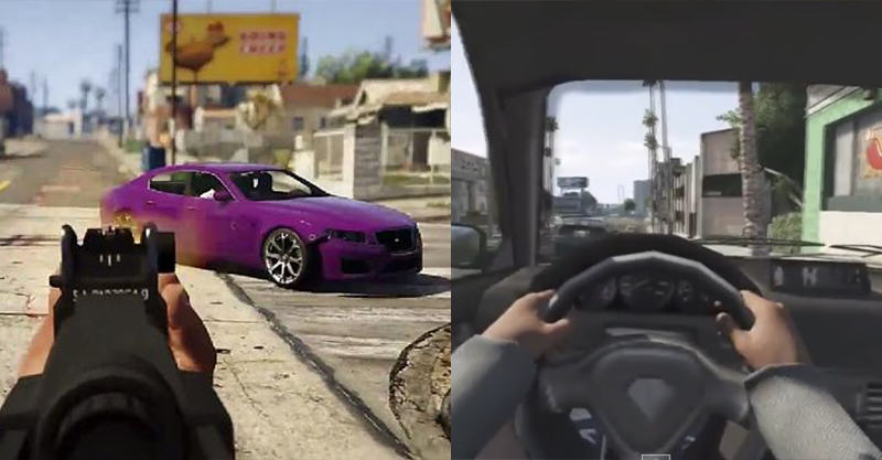 214 GTA V In First Person   Its Coming