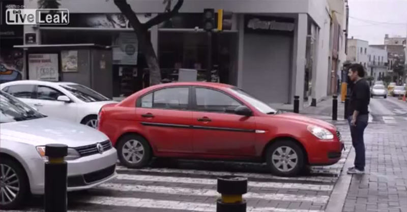Pedestrian Trolls The Sh*t Out Of Drivers Who Stop On Pedestrian Crossing 265
