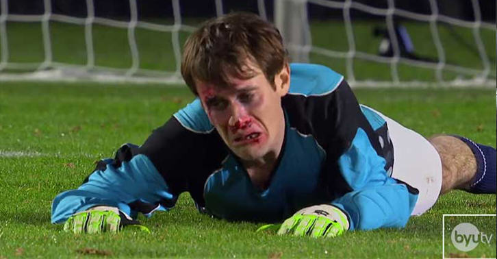 271 Goalkeeper Painfully Saves Multiple Penalties With His Face