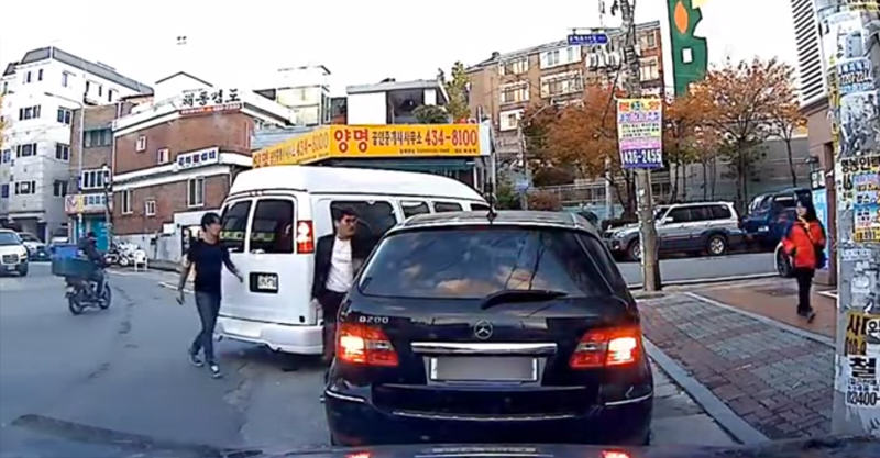 290 This Korean Road Rage Incident Escalated Quickly
