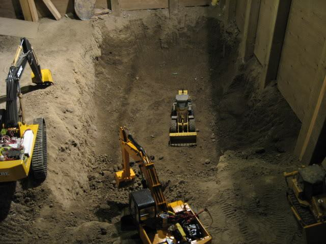 Joe Basement 492 Guy Spends 9 Years Digging Out Basement With Remote Controlled Diggers