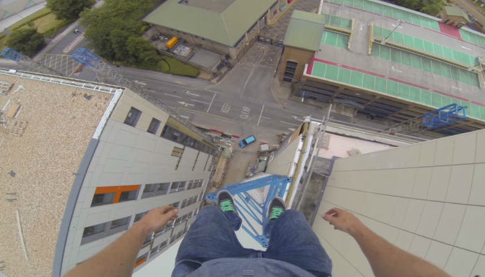 free run web thumb Free Runner James Kingston Released One Of His Craziest Stunts Yet