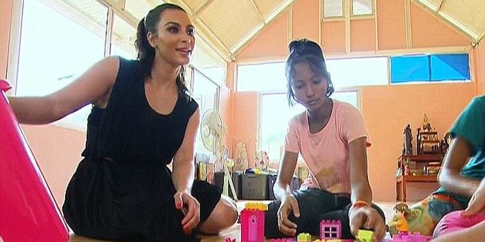 kim2 Thai Orphan Rejects Kim K Adoption Offer, Would Rather Stay An Orphan