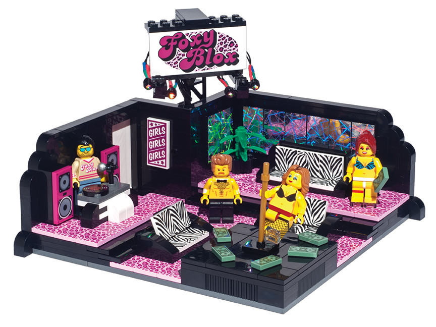lego 1 Christmas Present Sorted, You Can Now Buy Lego Strip Clubs