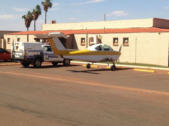 plane e1415016077528 Australian Man Drives Wingless Plane To Pub, Goes In For A Pint