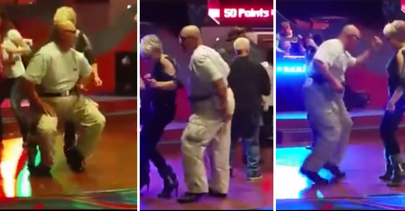 16 Old Guy Absolutely Kills It On The Dance Floor To Push It By Salt N Pepa