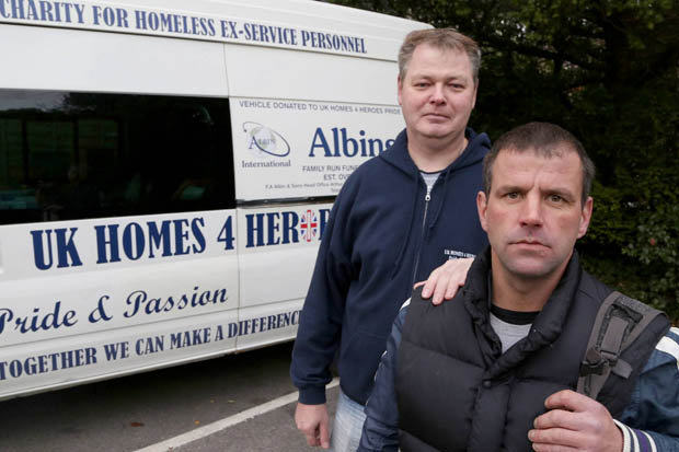 172578 British Army Veteran Left Homeless Because Hes Not A Priority Case