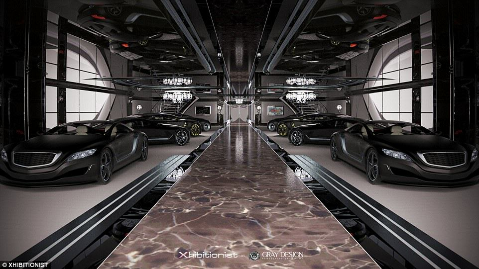 Inside The Most Insane Megayacht Weve Ever Seen 23BB224D00000578 2860959 image a 38 1417711345053