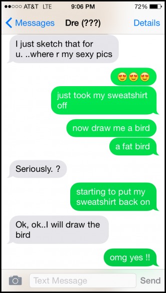 4 Lad Gets Trolled Into Swapping Animal Sketches For Nudes