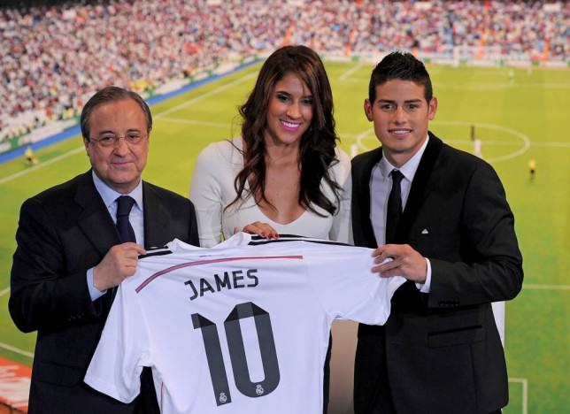 ad 153441691 e1417542070424 James Rodriguezs Wife Has Plastic Surgery After Real Madrid Fans Call Her Ugly